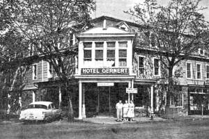 The Original Hotel Gernert Now Home Of Wooden Nickel Restaurant